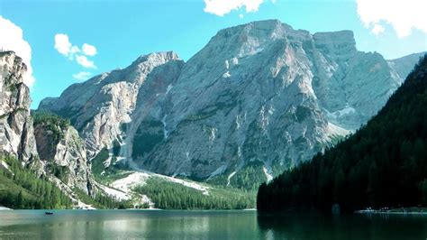 Lago Braies Dolomites Italy Youtube