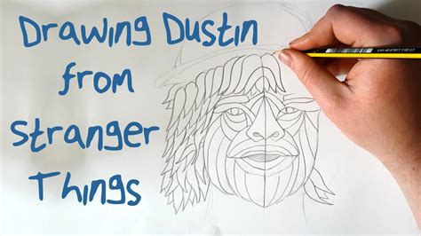 Drawing Dustin from Stranger Things: Time Lapse - Aztec ...