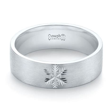 custom engraved brushed men s wedding band 103449 seattle bellevue joseph jewelry