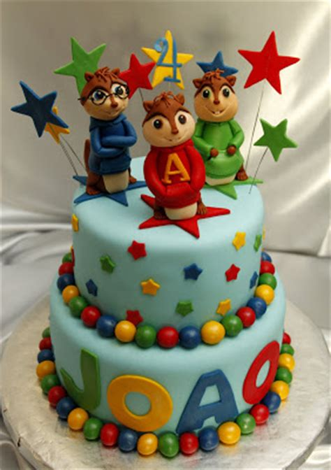 Alvin And The Chipmunks Cake Toppers Uk by Amazing Grace Cakes Alvin And The Chipmunks