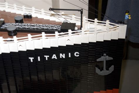 Lego Ship Sinking Titanic by Lego Titanic Flickr Photo