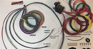 Rebel Wire  New    9 3 Underseat Wiring Harness  245 00