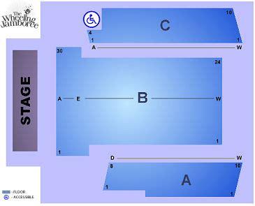 wheeling jamboree venue information