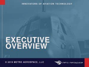 Microvanes Executive Overview – Metro Aerospace