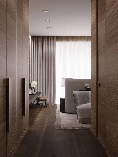 rendering  hotel rooms  behance