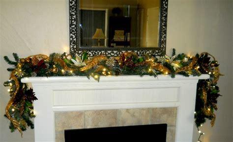 mantle garland with lights 28 best mantle garland festooned dirt simple