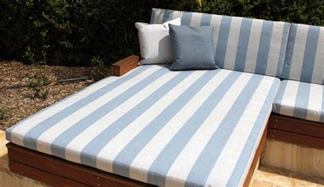 custom outdoor daybed setting  foam booth