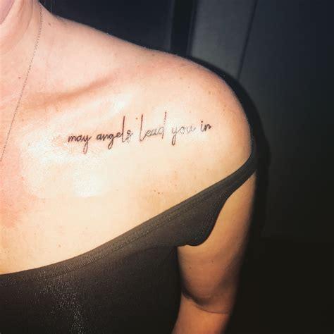 shoulder tattoomemorial tattoo remembrance tattoo