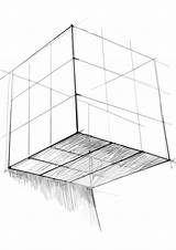 Cube Coloring Pages Rubiks Rubik sketch template