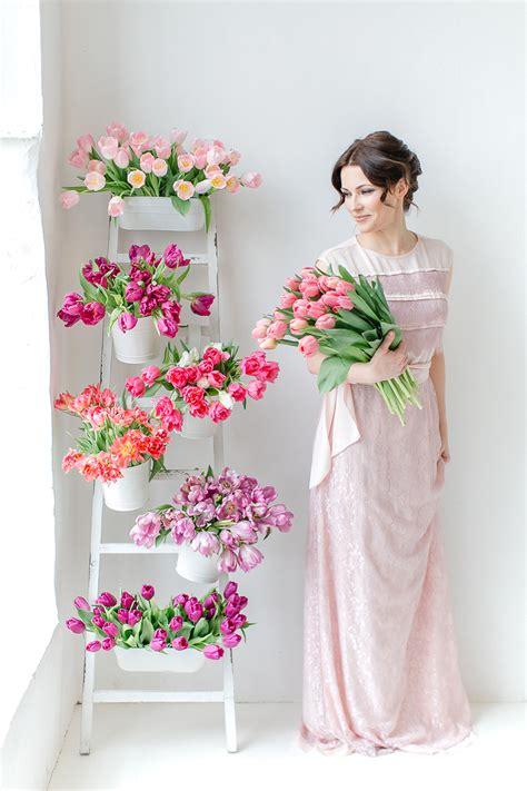 brautstrauss aus tulpen