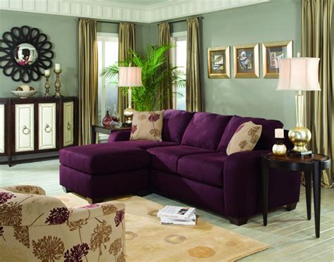 Living Room With Purple Sofa by Will I Regret Buying A Purple Sofa This Tale