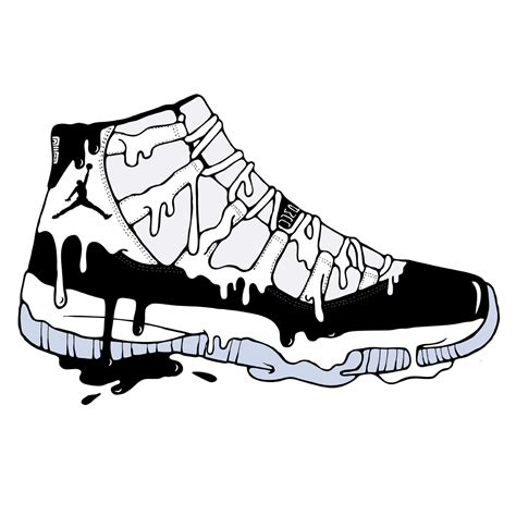 Drawings Of Jordans 12 Wwwpixsharkcom Images