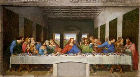 """Leonardo Da Vinci's """"last Supper"""""""