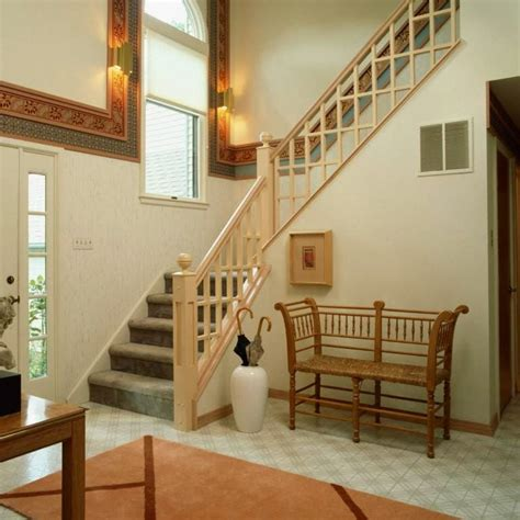 model tangga rumah  kayu