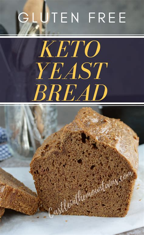 This keto low carb bread recipe using almond flour actually comes really close to being a no carb bread. Keto Yeast Bread ~ Gluten Free | Recipe in 2020 | No yeast ...