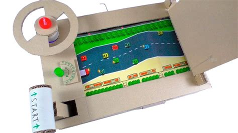 what to cook cing how to make car racing desktop game from cardboard youtube