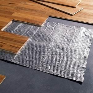 plancher chauffant electrique castorama With film chauffant électrique parquet flottant