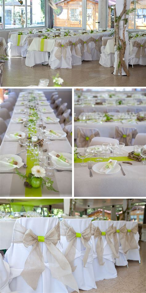 table de mariage th 232 me nature