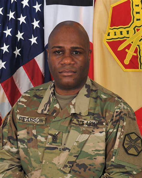 command sergeant major willie frank pearson jr usag