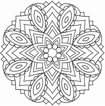 Coloring Grade Pages Mandala 5th Printable Mandalas