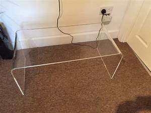 muji acrylic coffee table for sale in ranelagh dublin With acrylic coffee tables for sale