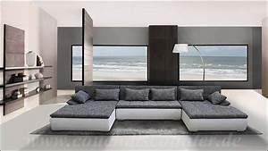 Big Sofa L Form : edle design riesen wohnlandschaft u form mega big sofa ~ Eleganceandgraceweddings.com Haus und Dekorationen