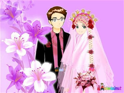anime nuansa islam kata ucapan selamat pernikahan nuansa islam naranua