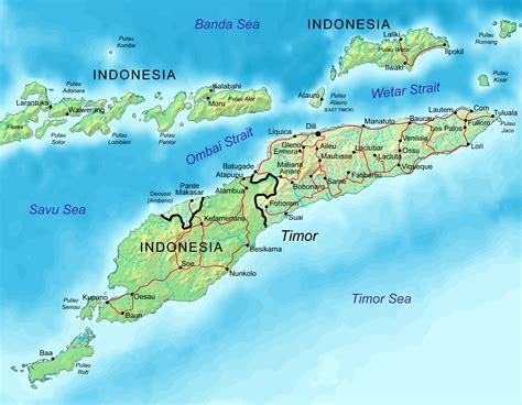 maps  east timor timor leste map library maps