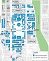 Columbia University Map - Columbia University New York ...