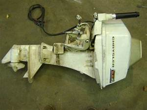 Chrysler 9 9 Hp Outboard  Electric Start For Sale In