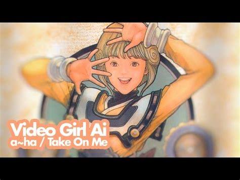 AHA Take On Me Girl