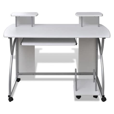 bureau 120x60 studenten computer bureau 120 x 60 cm wit kopen