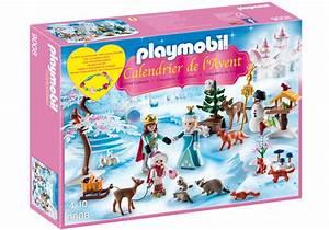 Calendrier Avent Fille : calendrier de l 39 avent famille royale en patins glace 9008 playmobil belgi ~ Preciouscoupons.com Idées de Décoration