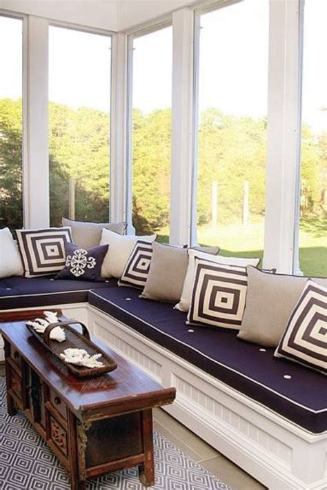 Window Seat Ideas Designs by Sunroom Idea Extended Window Seat For Reading Relaxing