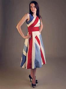 DRESSES, ON A BRITISH FLAG THEME The origin of the ...