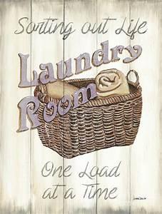 Vintage Laundry Room 2 Painting by Debbie DeWitt