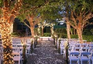 outdoor weddings outdoor wedding ceremony warner center marriott woodland