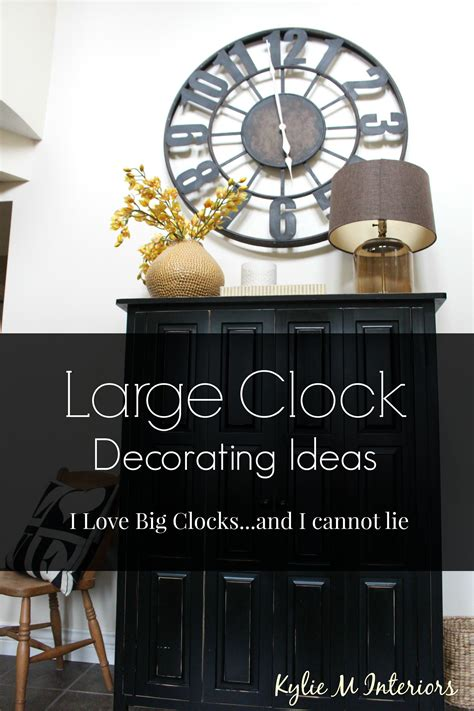 How To Decorating Clocks by How To Decorate With Large Clocks And My Favourite