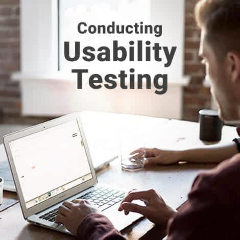 conducting usability testing interaction design foundation