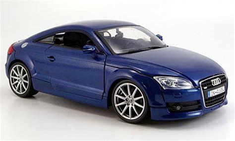 audi tt coupe miniature bleu  motormax  voiture
