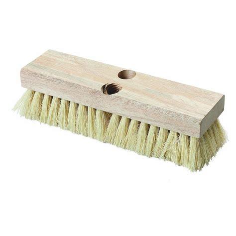 carlisle 10 in tico bristled deck scrub brush case of