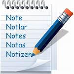 Catatan Notepad Manfaat Kecil Down Write Symbol