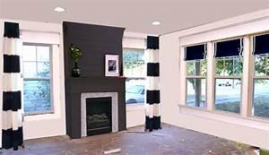 Beautiful, Dark, Gray, U0026, Black, Fireplaces