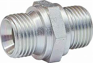 Male Nipple Straight Coupling Bspp Parallel Thread Type