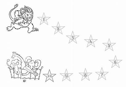 Chart Behavior Charts Printable Star Coloring Lion