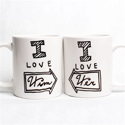 Valentine's Day Cute Mugs For Cute Couples   Etsy Cool Finds   Mom Spark   A Trendy Blog for