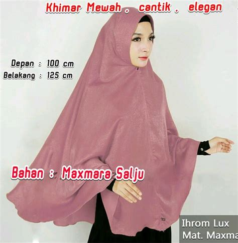 jual hijab khimar jumbo pet antem  lapak tutorial hijab