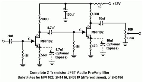 Mao Audiophile Modifications Design Guidelines For Jfet