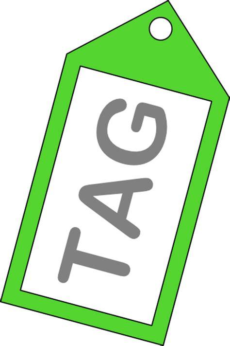 tag clip art  clkercom vector clip art  royalty  public domain