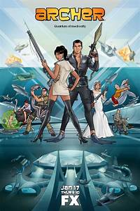 ARCHER Season 4 Poster and Character Interviews | Collider